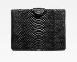iPad-Tasche-Case-Hülle-Pythonleder-schwarz