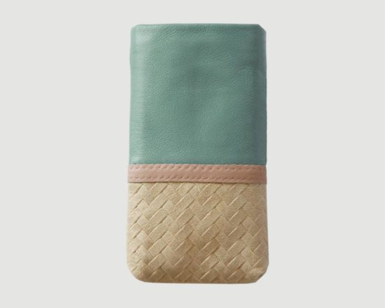 iPhone Case Brodure aqua