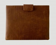 iPad / iPad Mini Case Braid Flap – cognac