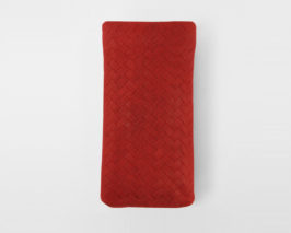 iPhone Case red geflochten Braid