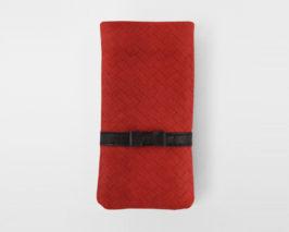 iPhone Case Braid Ballerine red/black
