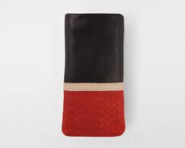 iPhone Case Brodure red black
