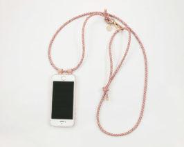 IPhone Case Zum Umhängen mit Geflochtener Lederkordel